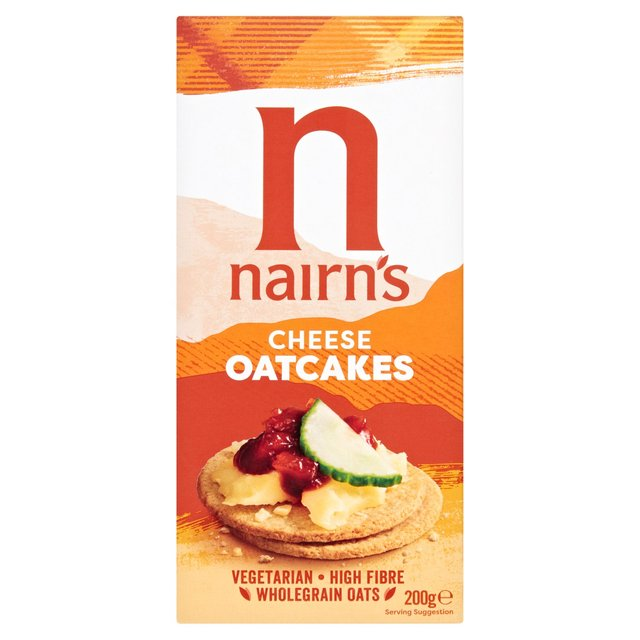 Nairn's Cheesey Oat Cakes