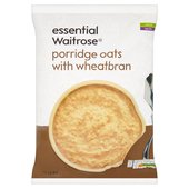 Porridge Oats With Wheatbran essential Waitrose