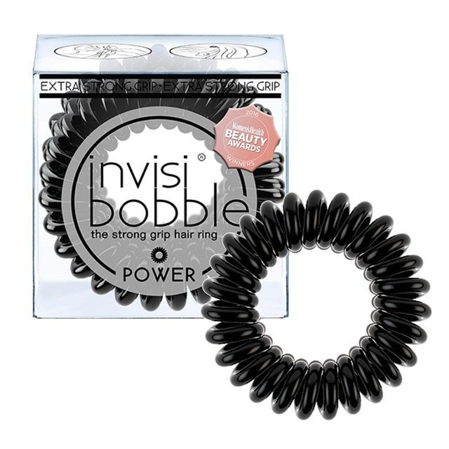 Invisibobble Strong Hold Black Hair Ties 3 per pack from Ocado 65ad64d5615