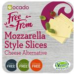 Ocado Free From Mozzarella Style Cheese Alternative Slices