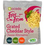 Ocado Free From Grated Cheddar Style Cheese Alternative