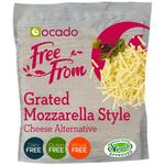 Ocado Free From Grated Mozzarella Style Cheese Alternative