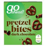 Go Ahead Pretzel Bites Dark Chocolate