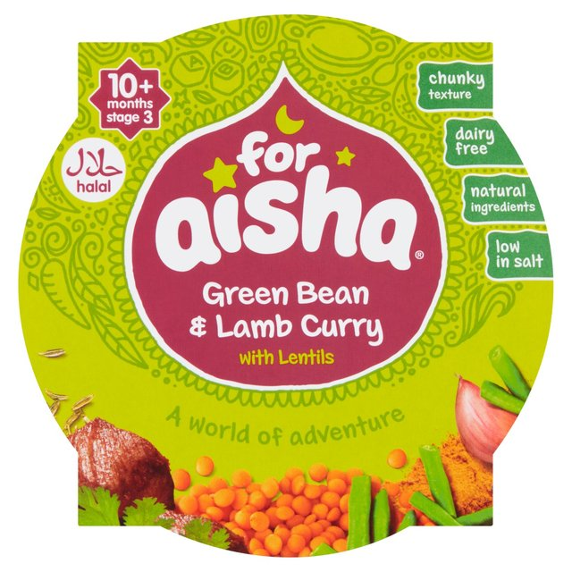 For Aisha Green Bean Lamb Curry With Lentils Ocado