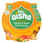 for aisha Chicken & Sweet Potato Curry