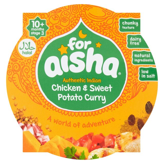For Aisha Chicken Sweet Potato Curry Ocado