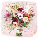 Posy of Pretty Blooms Mothers Day Card