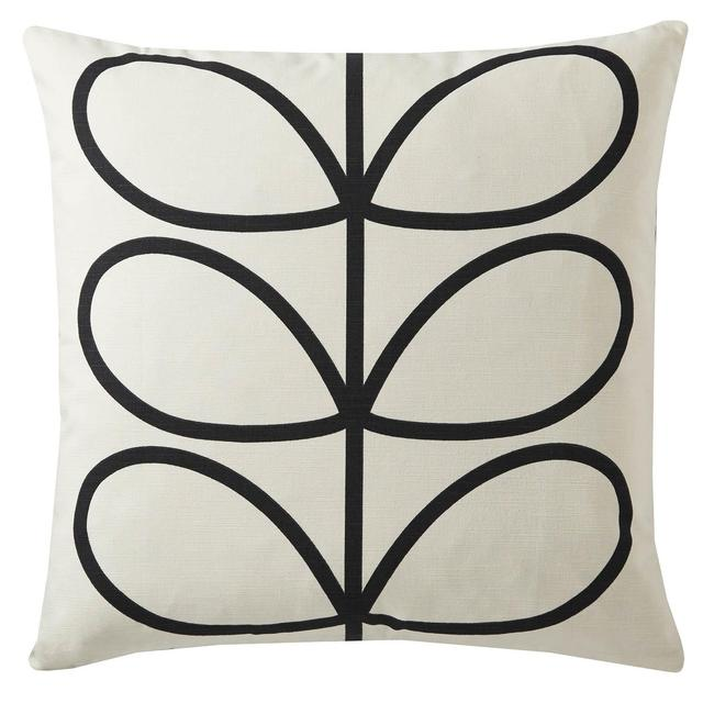 Orla Kiely Linear Stem Cushion Slate