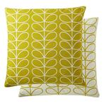Orla Kiely, Small Linear Stem cushion, Sunflower Large
