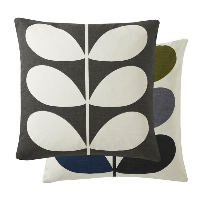 Orla Kiely Multi Stem Cushion Khaki
