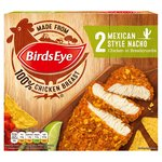 Birds Eye 2 Mexican Nacho Crumb Chicken Grills Frozen