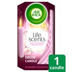 Air Wick Summer Delight Pillar Candle