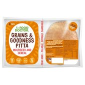 The Food Doctor Cereal & Seed Pitta Bread