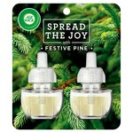 Airwick Electrical Twin Refill Festive Pine