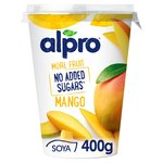 Alpro No Added Sugar More Fruit Mango