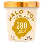 Halo Top Vanilla Bean Low Calorie Ice Cream