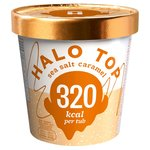 Halo Top Sea Salt Caramel Low Calorie Ice Cream