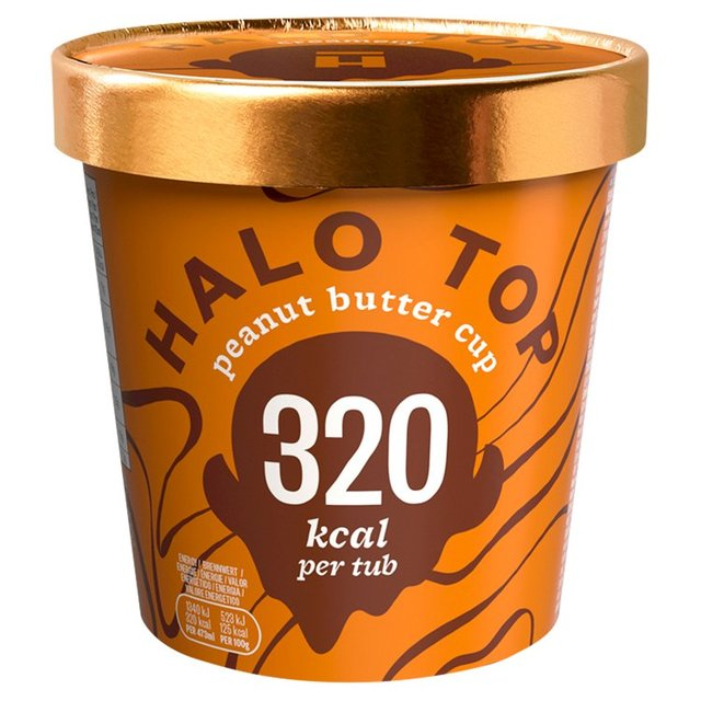 Halo Top Peanut Butter Low Calorie Ice Cream 473ml