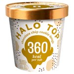 Halo Top Chocolate Chip Cookie Dough Low Calorie Ice Cream