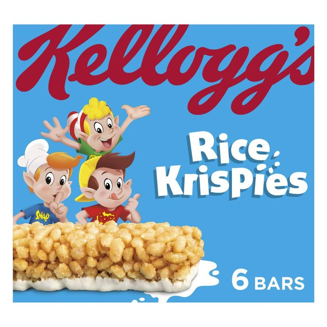 Kellogg's Rice Krispies Cereal Milk Bars 6 X 20g From Ocado