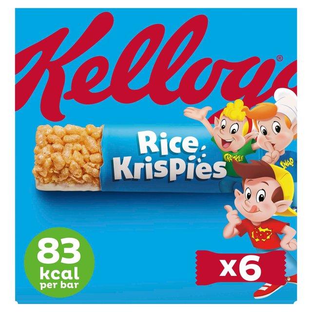 rice krispies cereal milk bars