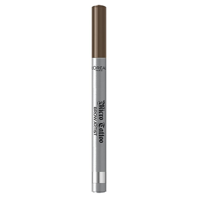 L'Oreal Paris Brow Artist Micro Tattoo 24HR Eyebrow Definer Brown