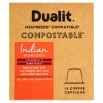 Dualit Indian Monsoon Compostable Nespresso Compatible Capsules