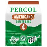 Percol Rainforest Alliance All Day Americano Coffee Bags