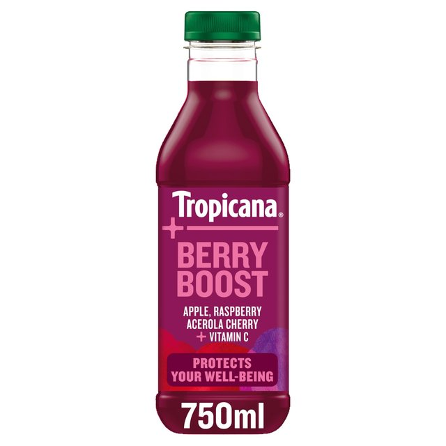 Tropicana Essentials Berry Boost Red Grape & Apple Juice