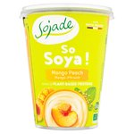 Sojade Organic Mango & Peach Bifidus Soya Yogurt Alternative