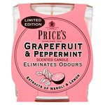 Price's Candles Fresh Air Jar Grapefruit and Peppermint