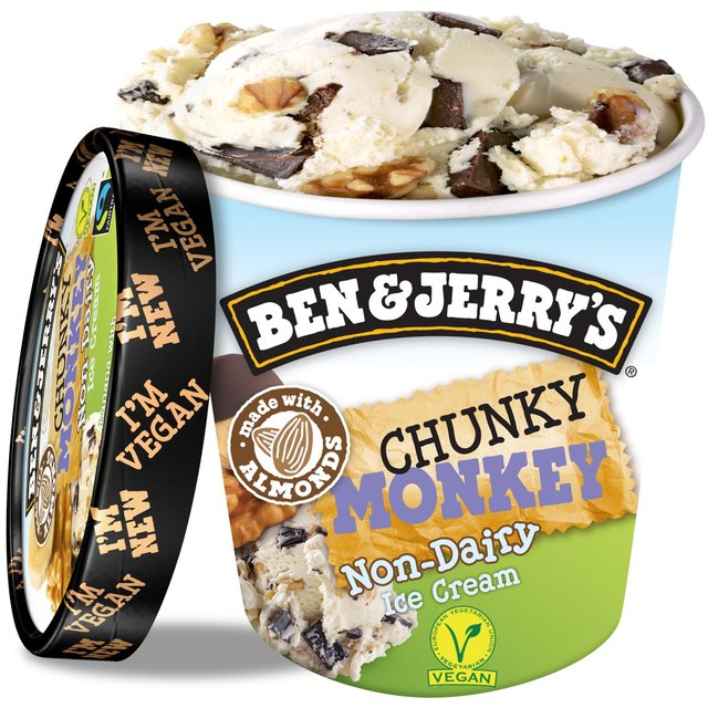 Ben & Jerry's Dairy Free Chunky Monkey Ice Cream