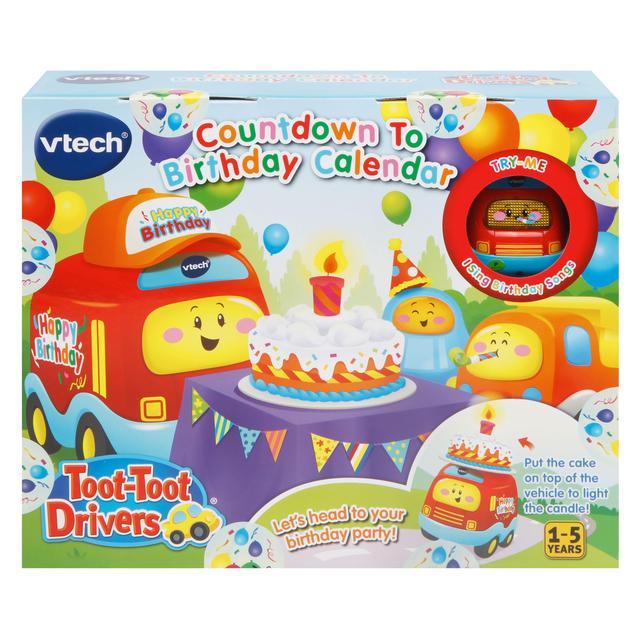 VTech Toot Drivers Countdown To Birthday Calendar From Ocado