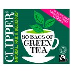 Clipper Organic Fairtrade Green Tea Bags