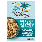 WK Kellogg No Added Sugar Granola Coconut, Cashew & Almond
