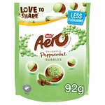 Aero Bubbles Peppermint Mint Chocolate Sharing Bag