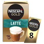 Nescafe Gold Latte Coffee 8 Sachets
