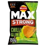 Walkers Max Strong Chilli & Lime Crisps