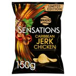 Sensations Caribbean Jerk Chicken Crisps