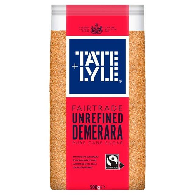 Tate & Lyle Fairtrade Demerara Sugar 500g from Ocado