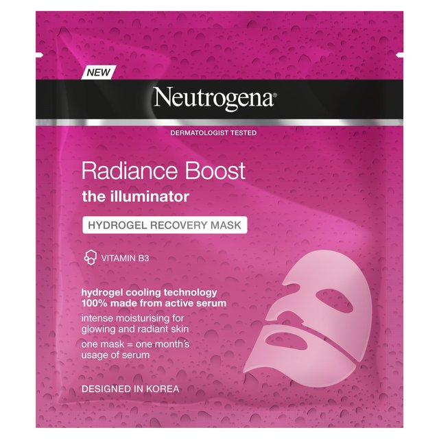 Neutrogena Radiance Boost Hydrogel Mask