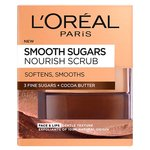 L'Oreal Paris Smooth Sugar Nourish Cocoa Face & Lip Scrub