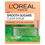 L'Oreal Paris Smooth Sugar Clear Kiwi Face & Lip Scrub