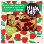 Higgidy Spinach, Feta and Cherrybell Pepper Frittata