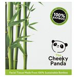 Cheeky Panda Natural Bamboo Facial Tissue Cube