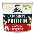 Quaker Oat So Simple Protein Porridge Pot Original
