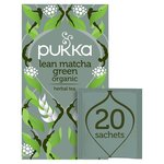 Pukka Lean Matcha Green Tea Bags