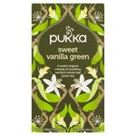 Pukka Sweet Vanilla Green Tea Bags