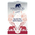 Williamson Fine Teas Black Tea with Peach Teabags