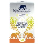 Williamson Fine Teas Black Tea with Apple & Spice Teabags
